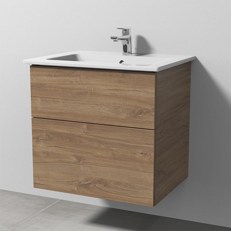 Image of Sanipa 3way Keramik-Set Venticello inkl. Keramik-Waschtisch und Waschtischunterbau mit 2 Auszügen, E SM32259
