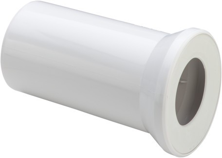 WC Anschlussstutzen 3815 in 250mm Kunststoff beige 107086
