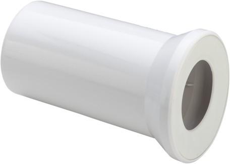 WC Anschlussstutzen 3815 in 250mm Kunststoff weiss 101312